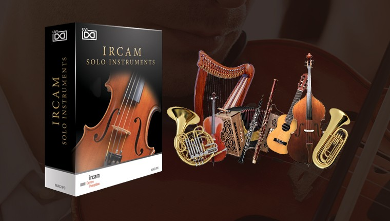UVI IRCAM Solo Instruments - Classical Instruments Suite