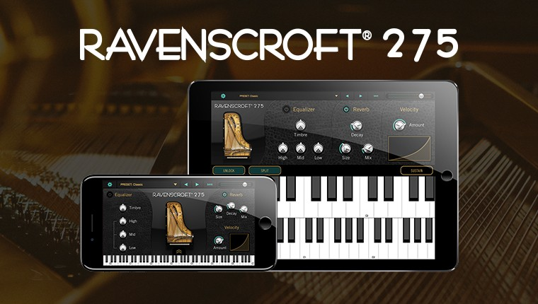 Ravenscroft 275 Piano for iPad and iPhone - A Virtual Piano Like No