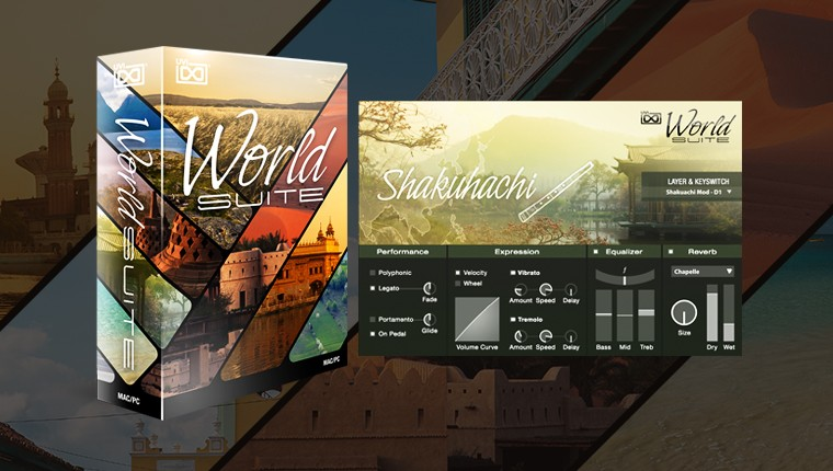 UVI World Suite - Instruments from around the world