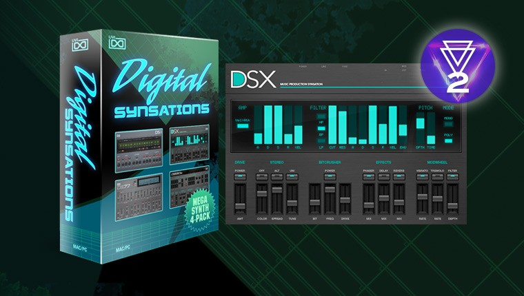 UVI Digital Synsations - Virtual 90's Synthesizers Instruments