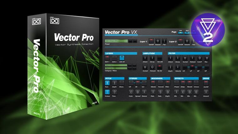 UVI Vector Pro | ベクトル シン...