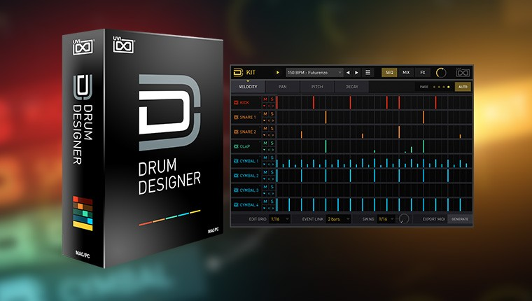 UVI Drum Designer - Modern Drum Workshop