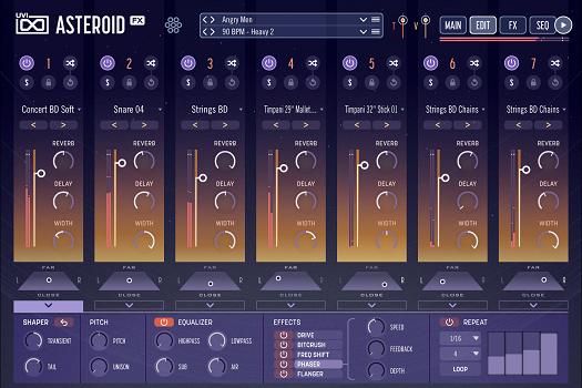 UVI Asteroid | Edit GUI