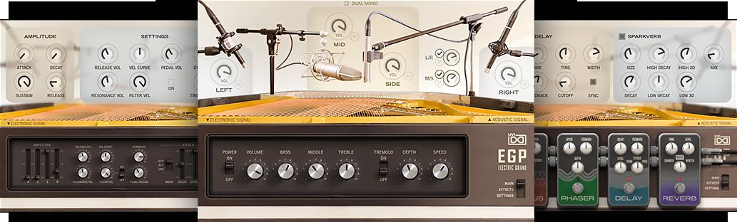 UVI EGP | Instrument