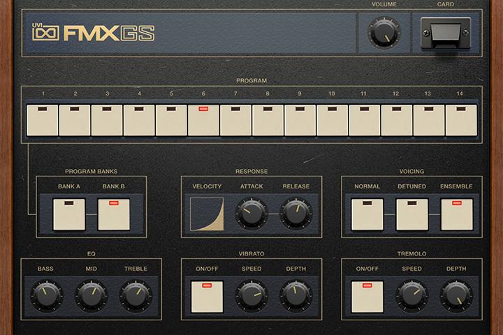 UVI FM Suite | FMX-GS GUI