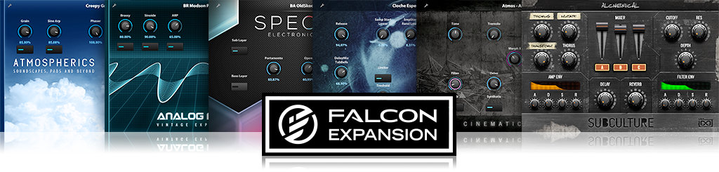 UVI Falcon | FALCON EXPANSIONS