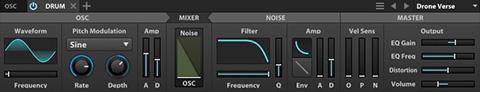 UVI Falcon | Drum Oscillator