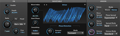 UVI Falcon | WAVETABLE Oscillator