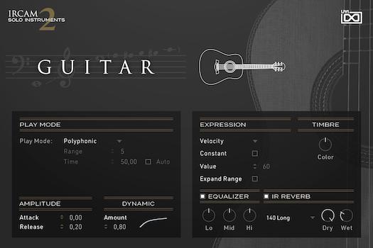 UVI IRCAM Solo Instruments 2 | Guitar GUI