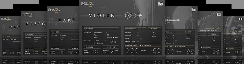 UVI IRCAM Solo Instruments 2 | IRCAM Labs
