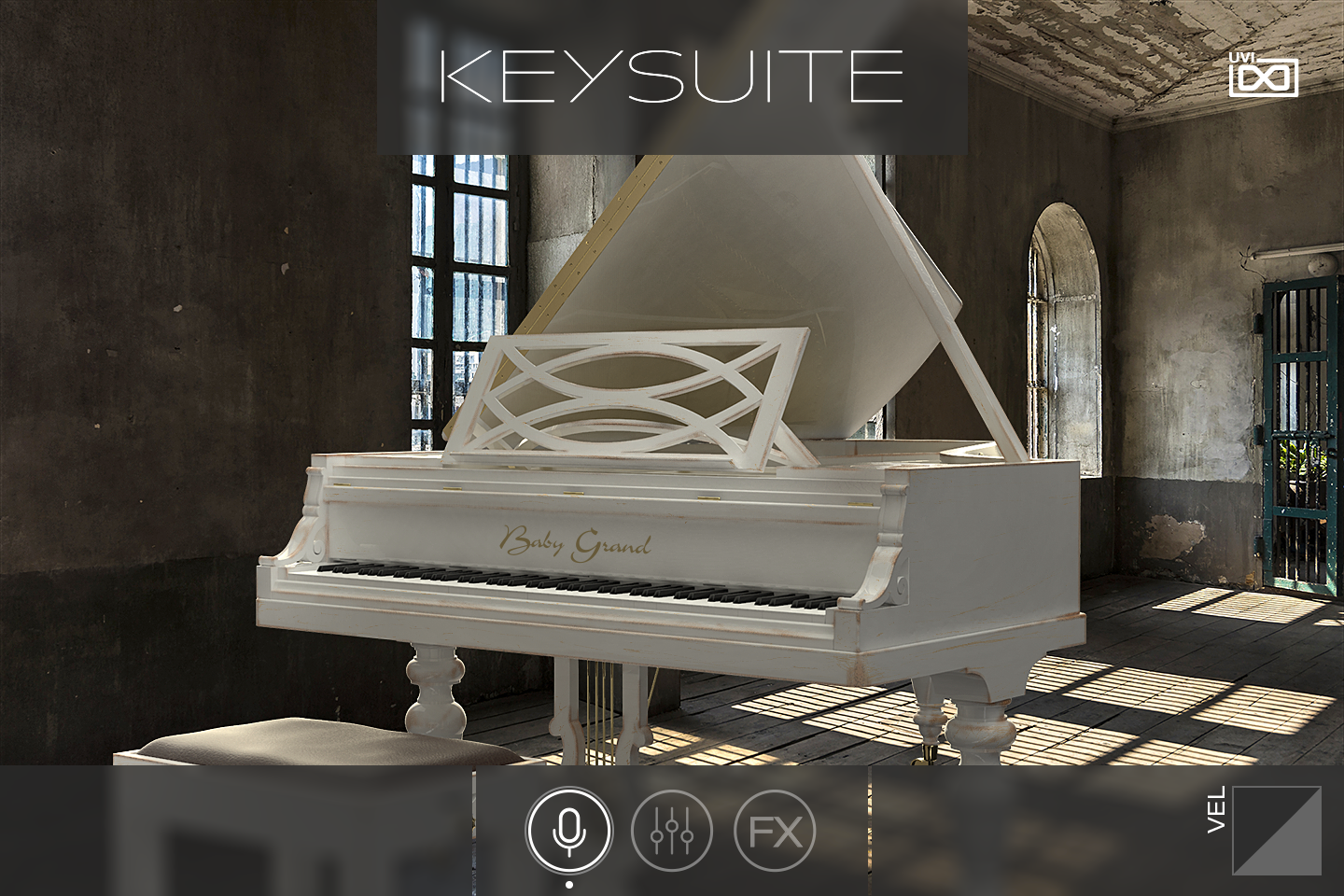 UVI Key Suite Acoustic | Baby Grand Main