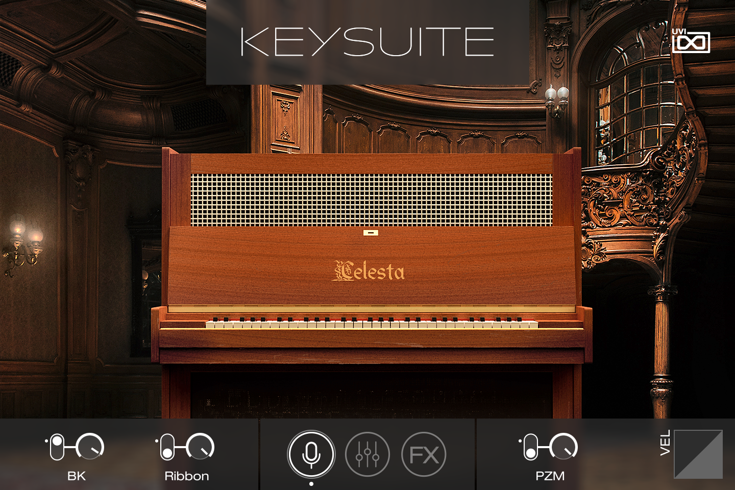 UVI Key Suite Acoustic | Celesta Main