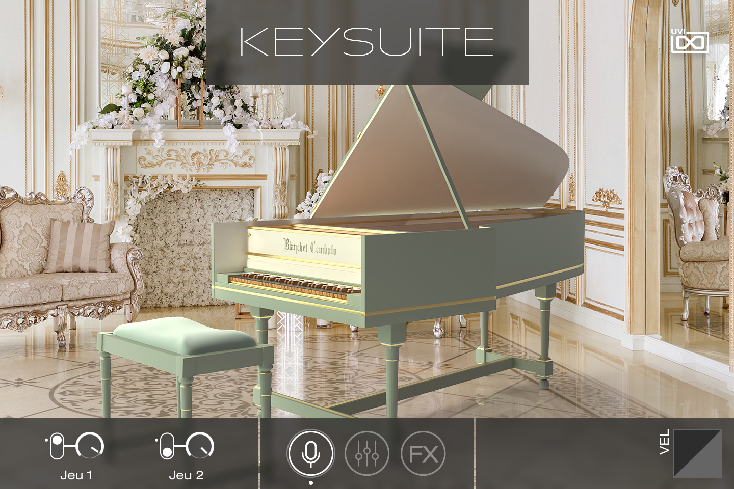 UVI Key Suite Acoustic | Blanchet Cembalo Main