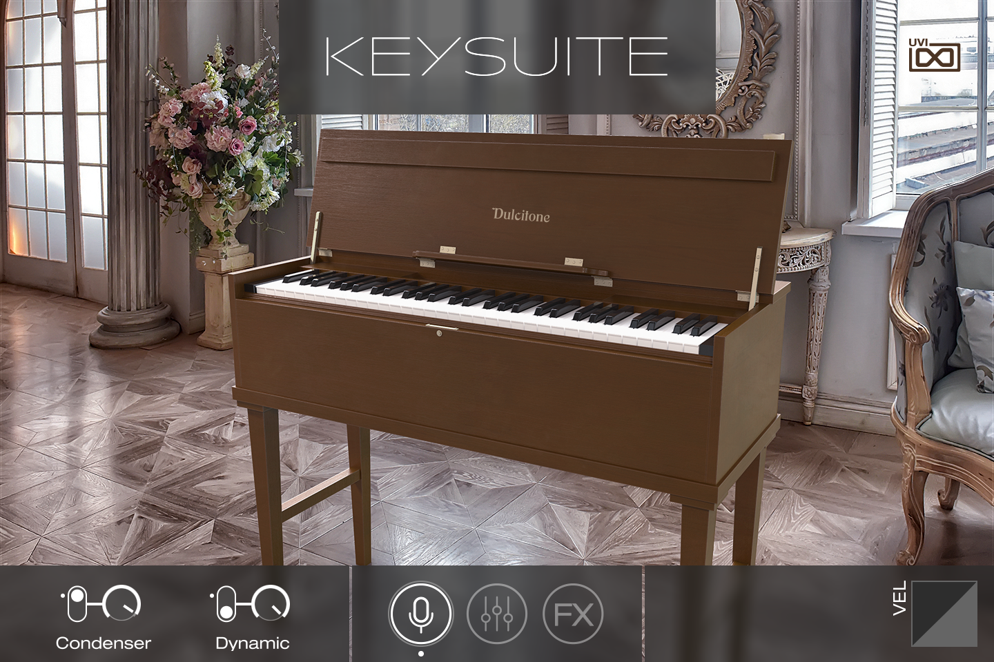 UVI Key Suite Acoustic | Dulcitone Main