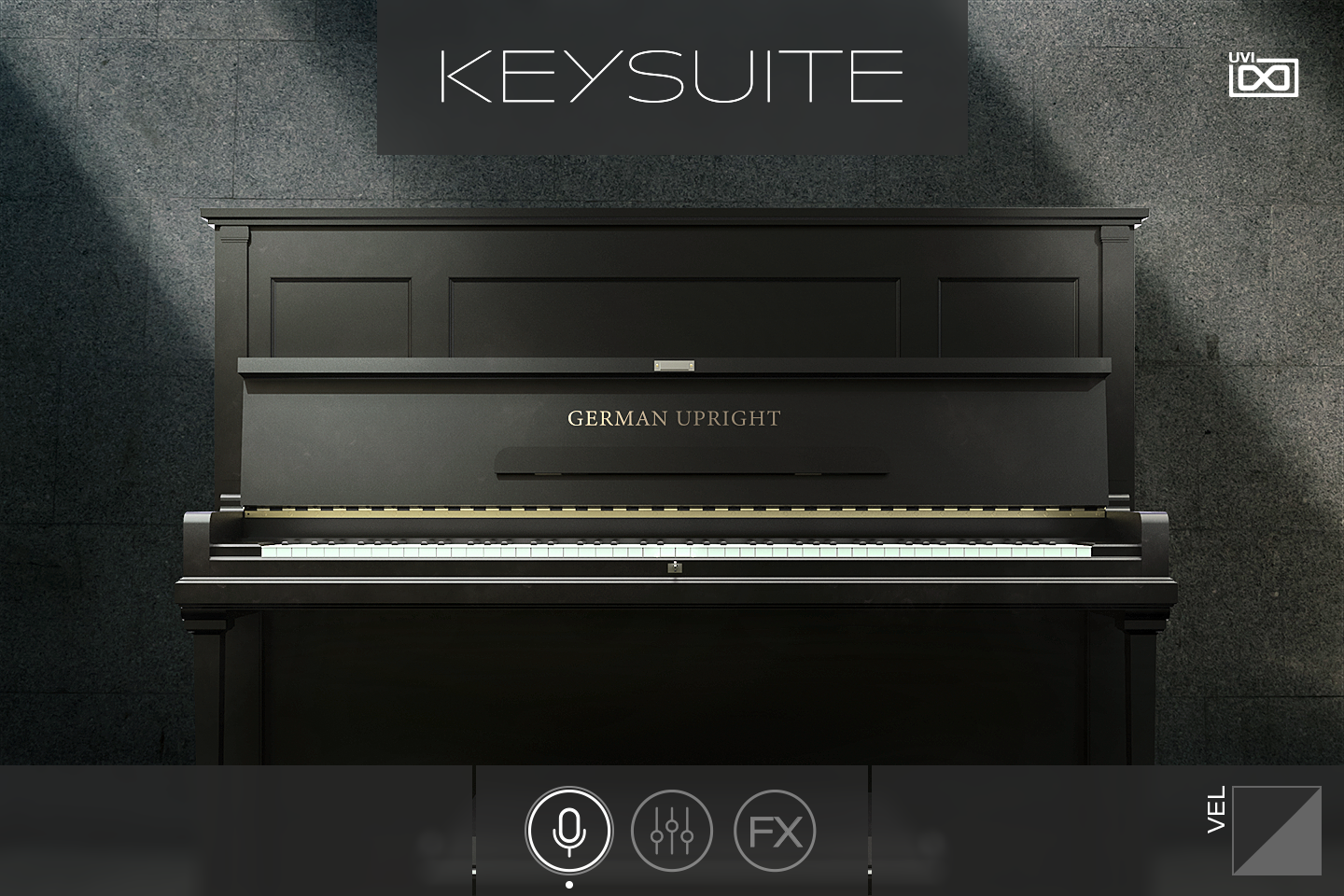 UVI Key Suite Acoustic | German Upright Main