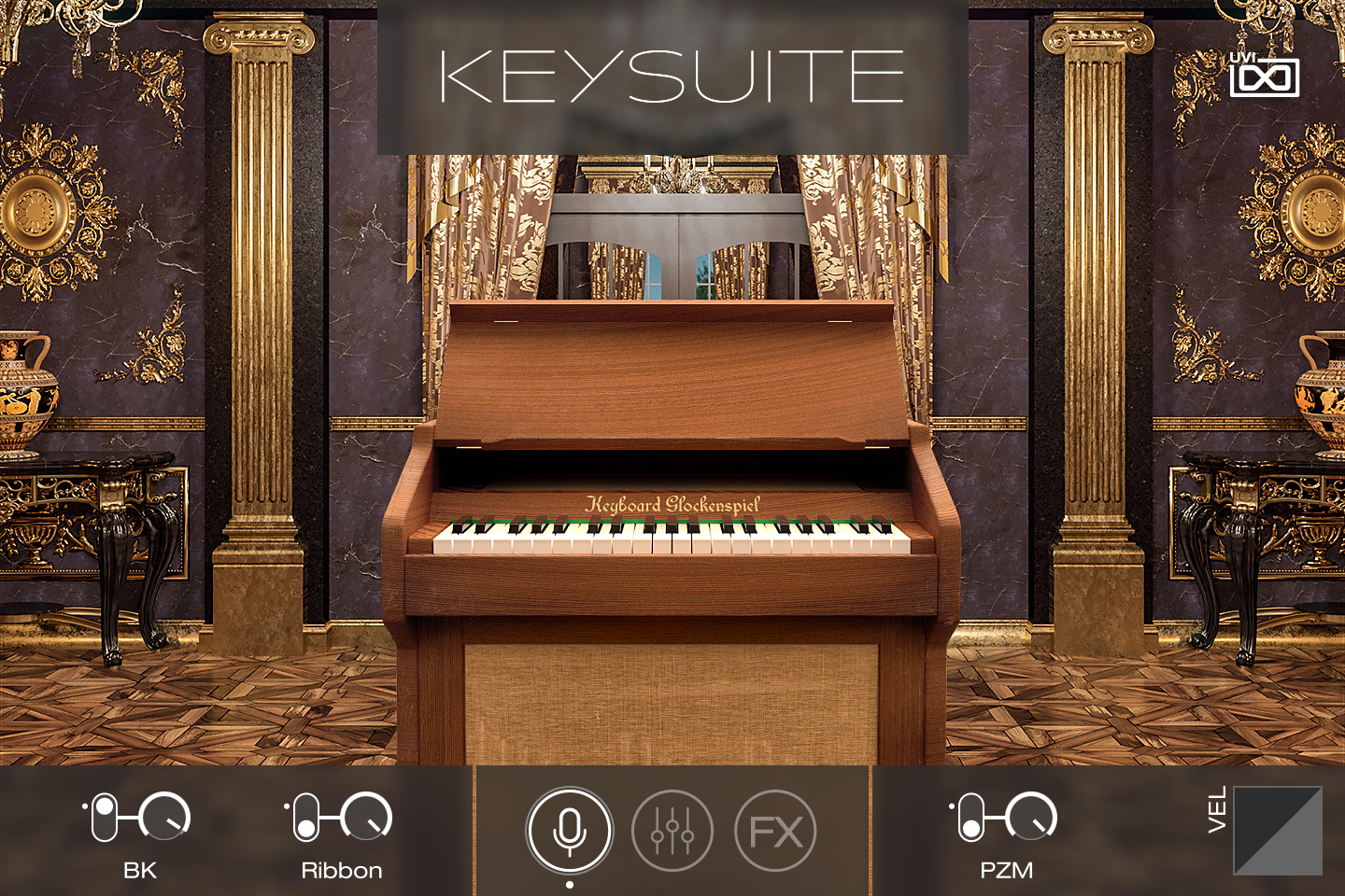 UVI Key Suite Acoustic | Keyboard Glockenspiel Main