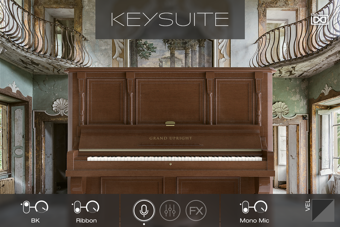 UVI Key Suite Acoustic | Grand Upright Main
