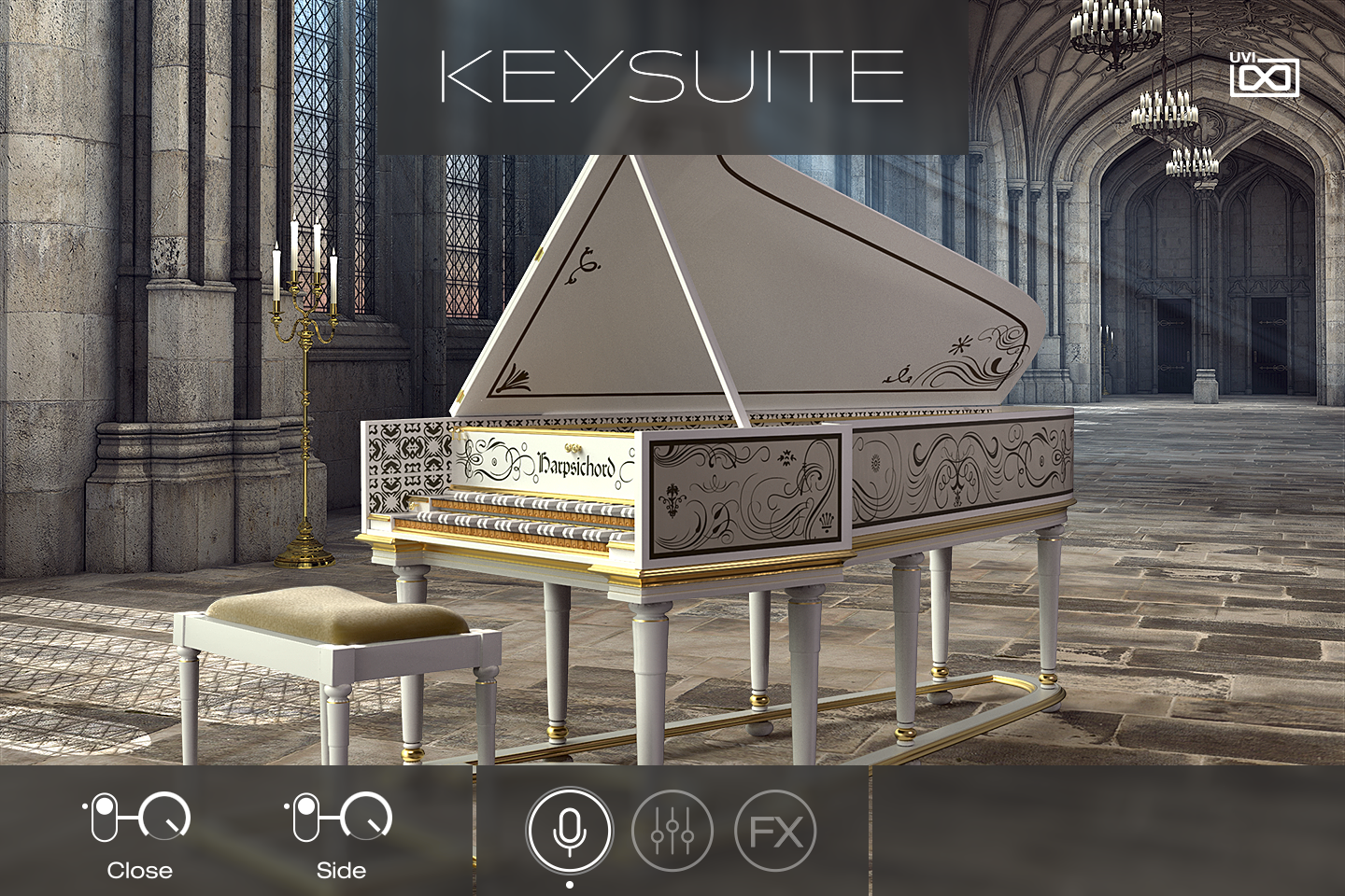 UVI Key Suite Acoustic | Harpsichord Main