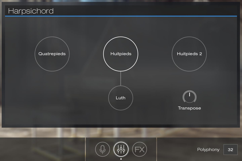 UVI Key Suite Acoustic | Harpsichord Edit