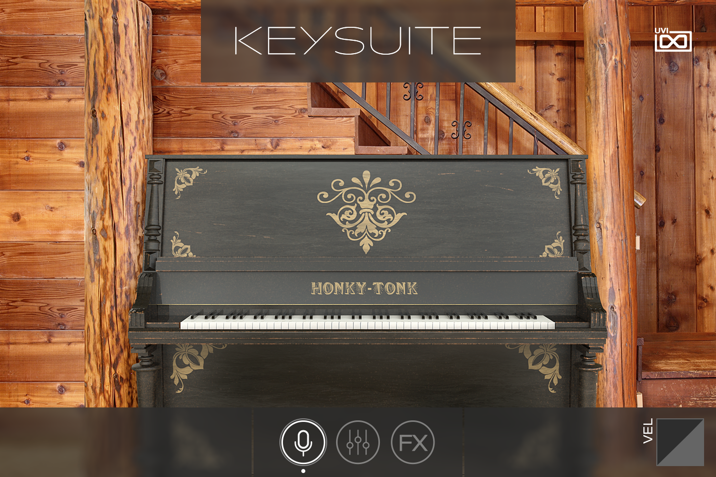UVI Key Suite Acoustic | Honky-Tonk Upright Main