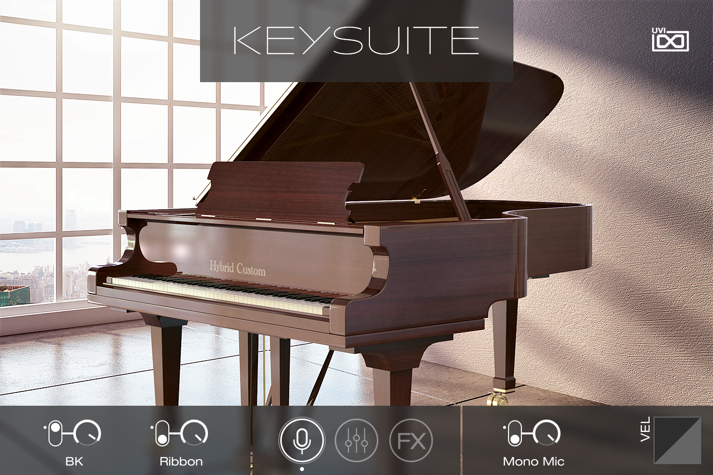 UVI Key Suite Acoustic | Hybrid Custom Main