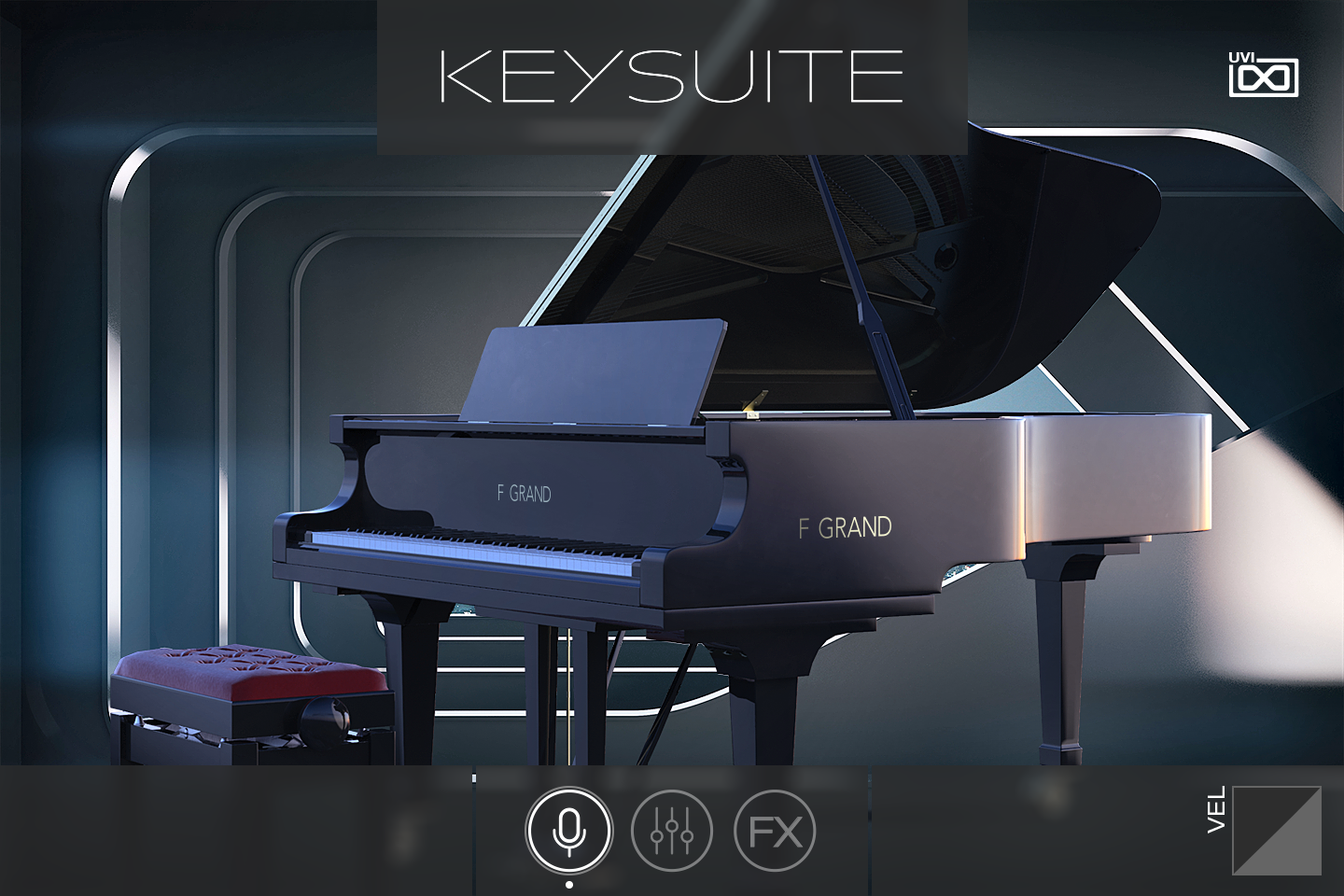 UVI Key Suite Acoustic | F Grand Main