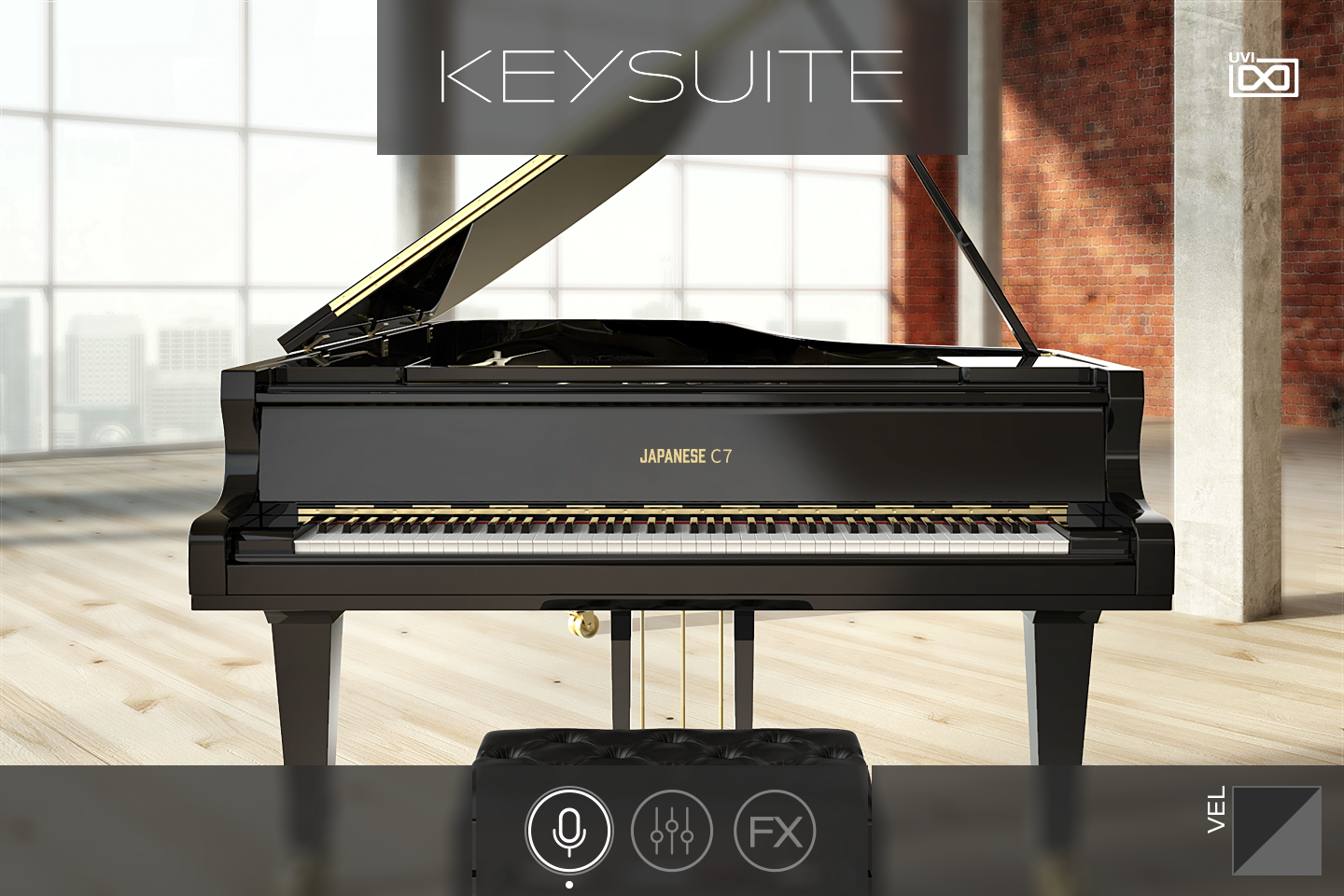 UVI Key Suite Acoustic | Japanese C7 Main