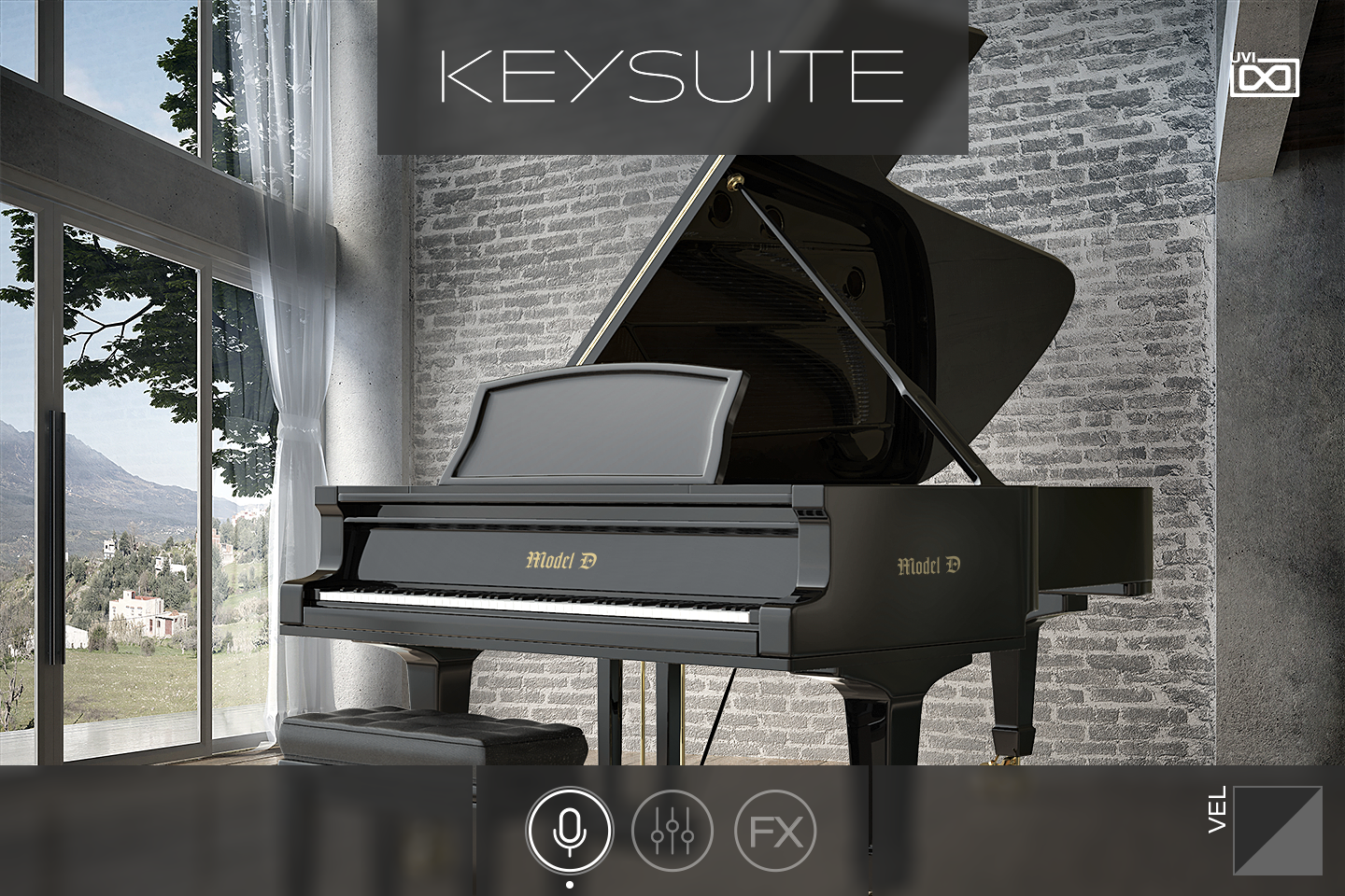UVI Key Suite Acoustic | GUI Main