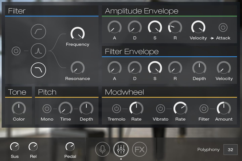 UVI Key Suite Acoustic | Model D Edit