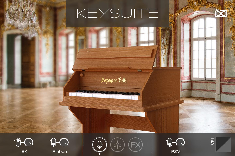 UVI Key Suite Acoustic | Papageno Bells Main