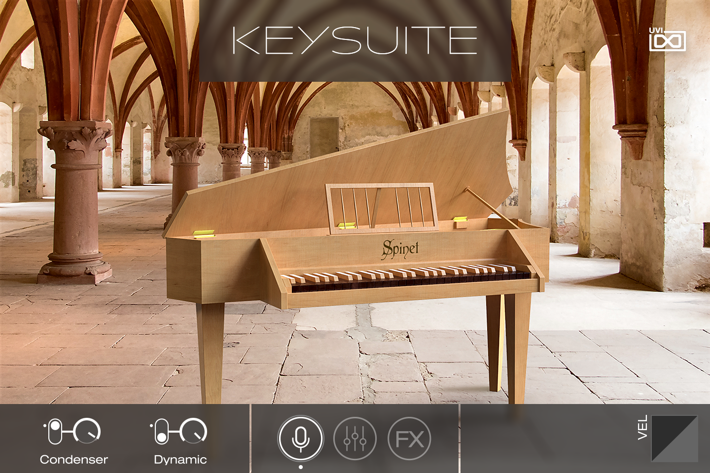 UVI Key Suite Acoustic | Spinet Main