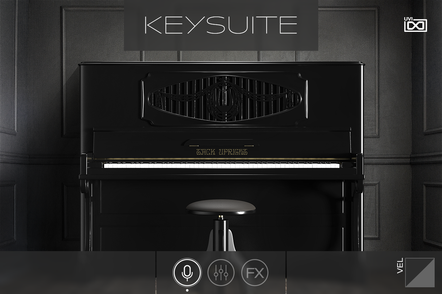 UVI Key Suite Acoustic | Tack Upright Main