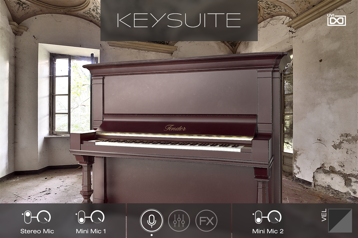 UVI Key Suite Acoustic | Tender Upright Main