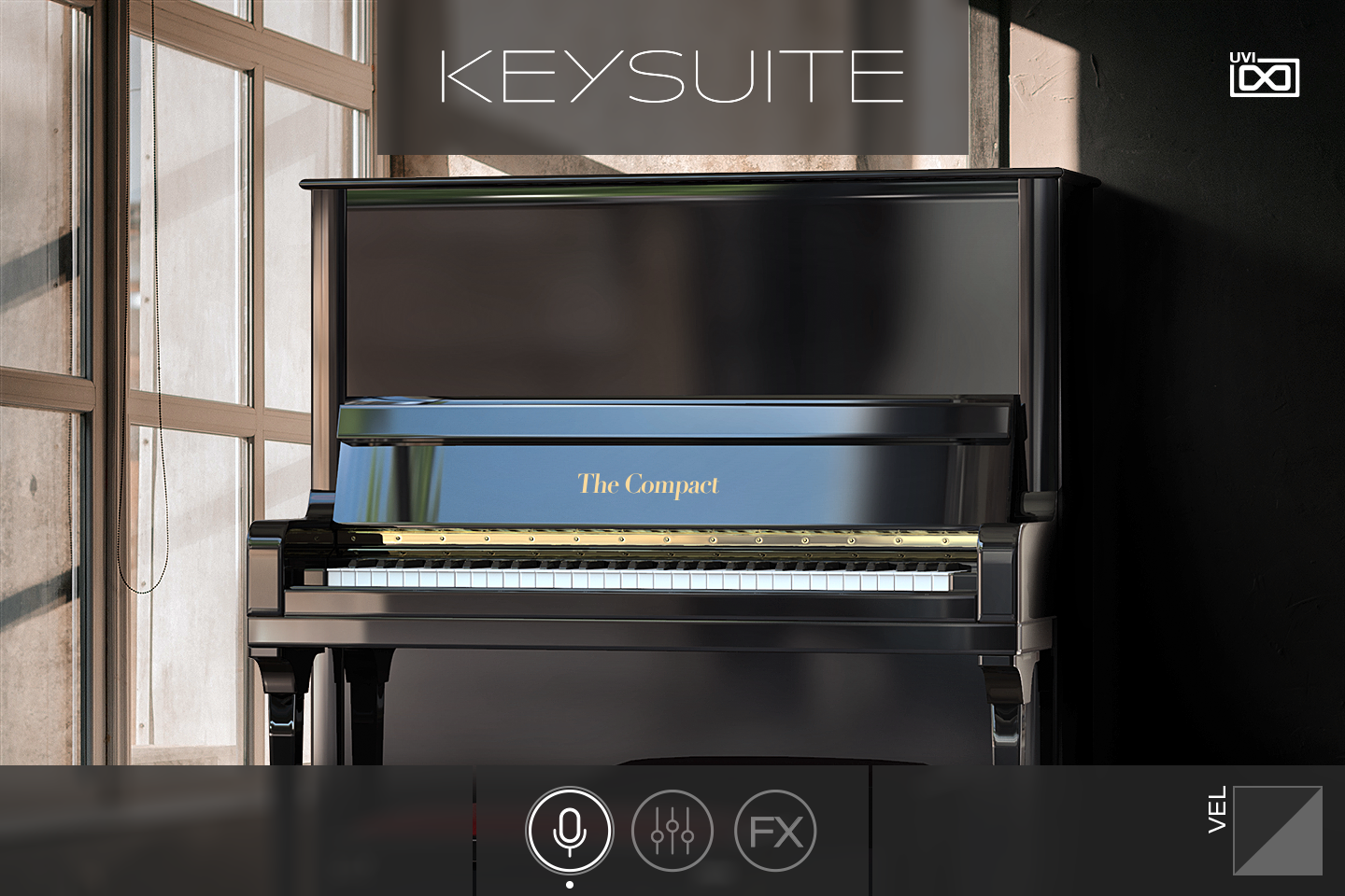 UVI Key Suite Acoustic | The Compact Main