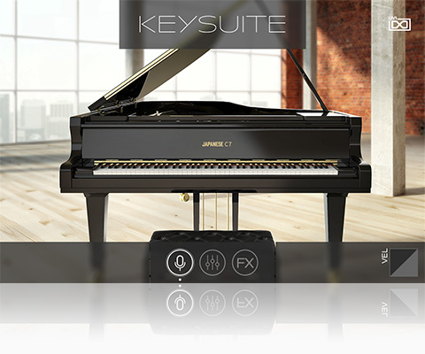 UVI Key Suite Acoustic | Japanese C7