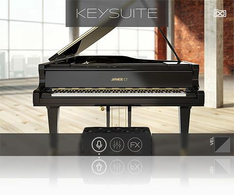 UVI Key Suite Acoustic | Japanese C7
