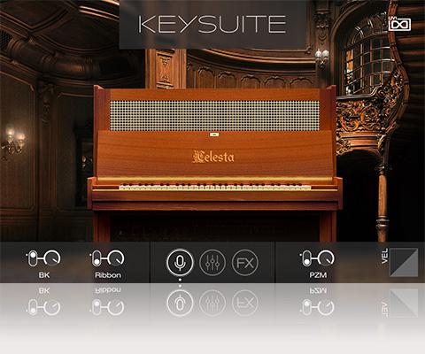 UVI Key Suite Acoustic | Celesta