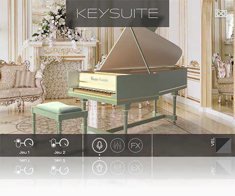 UVI Key Suite Acoustic | Blanchet Cembalo