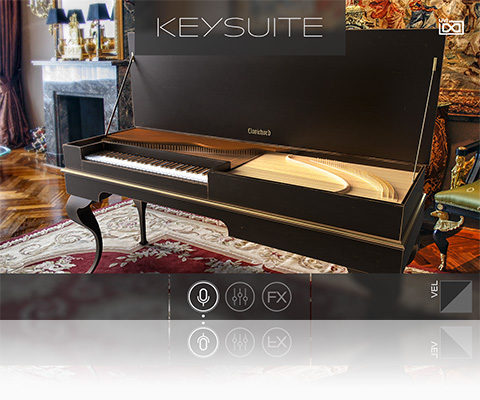 UVI Key Suite Acoustic | Clavichord
