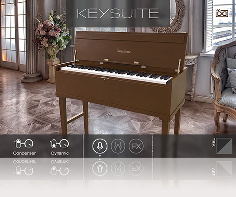 UVI Key Suite Acoustic | Dulcitone
