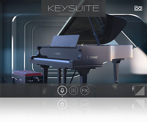 UVI Key Suite Acoustic | F Grand