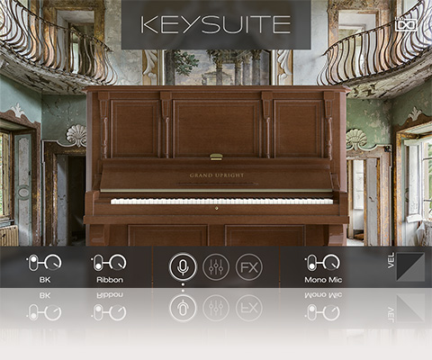 UVI Key Suite Acoustic | Grand Upright