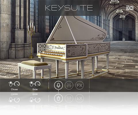 UVI Key Suite Acoustic | Harpsichord