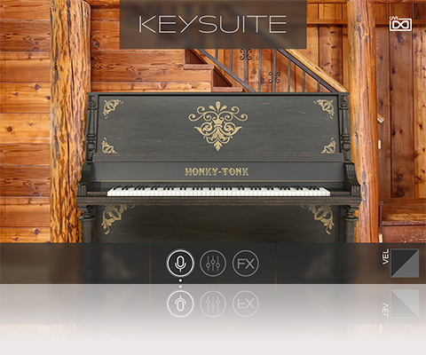 UVI Key Suite Acoustic | Honky-Tonk Upright