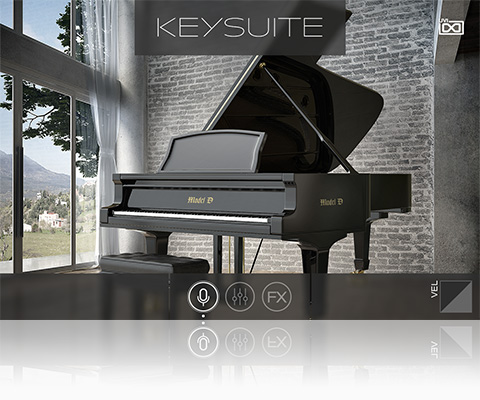 UVI Key Suite Acoustic | Model D