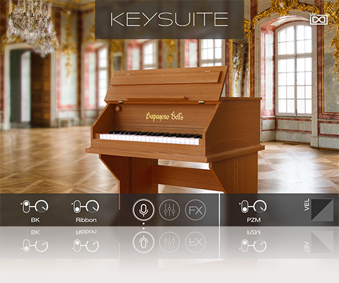 UVI Key Suite Acoustic | Papageno Bells