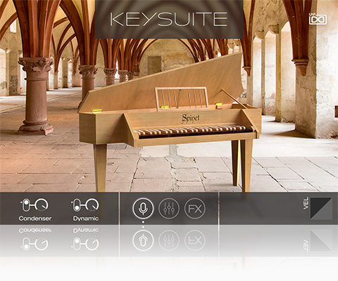 UVI Key Suite Acoustic | Spinet