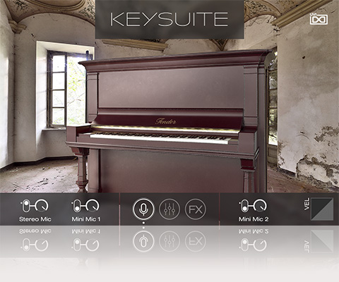 UVI Key Suite Acoustic | Tender Upright