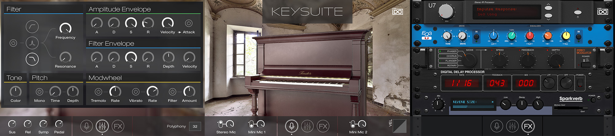 UVI Key Suite Acoustic | Pages