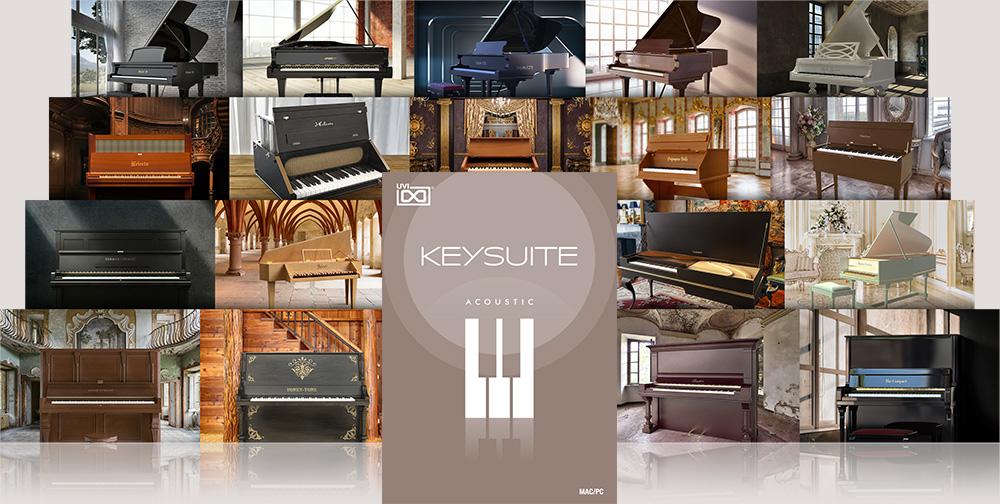 UVI Key Suite Bundle Edition | Key Suite Acoustic